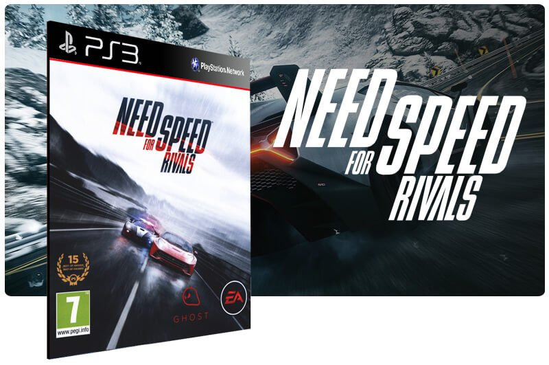 Banner do game Need For Speed Rivals para PS3