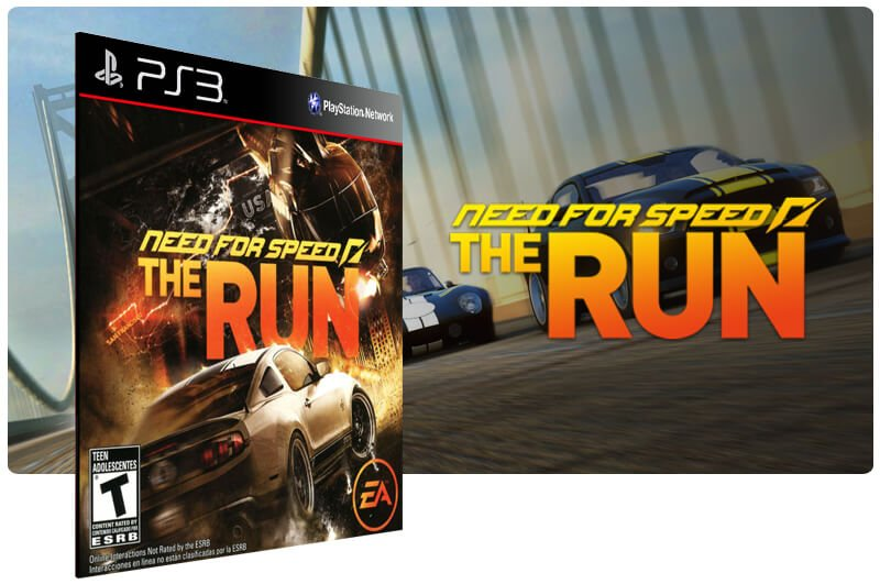 Banner do game Need For Speed The Run para PS3