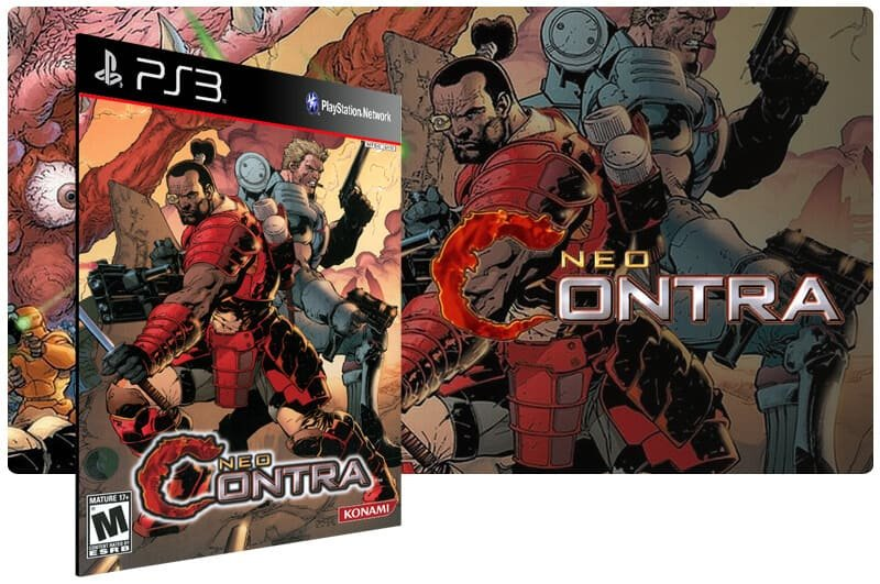 Banner do game Neo Contra (Ps2 Classic) para PS3