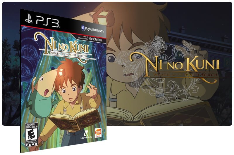 Banner do game Ni No Kuni Wrath of The White Witch para PS3