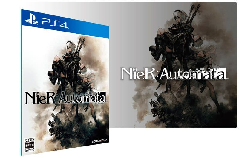 Banner do game Nier Automata para PS4