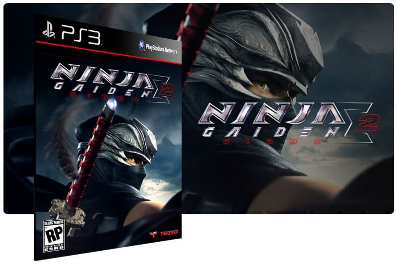 Banner do game Ninja Gaiden Sigma 2 para PS3