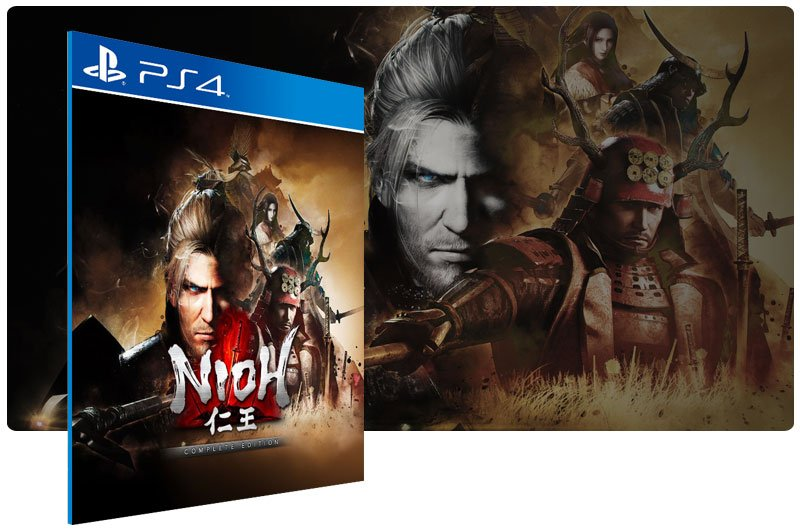 Banner do game Nioh The Complete Edition para PS4