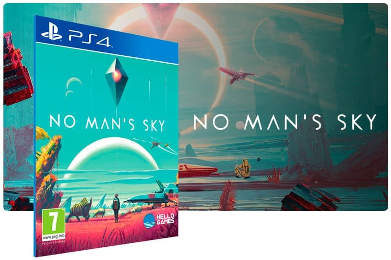 Banner do game No Mans Sky para PS4