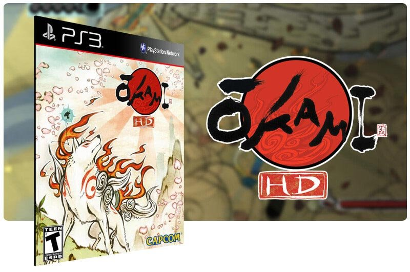 Banner do game Okami HD para PS3