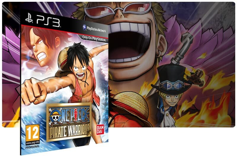 Banner do game One Piece: Pirate Warriors para PS3