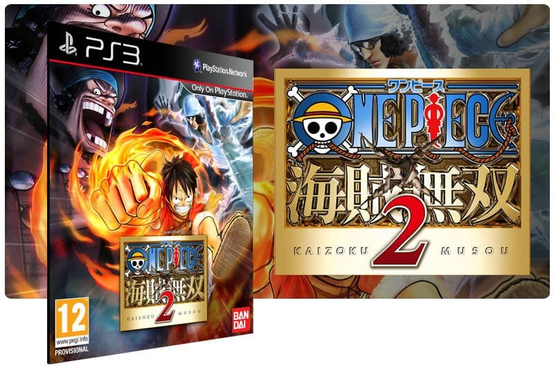 Banner do game One Piece Pirate Warriors 2 para PS3