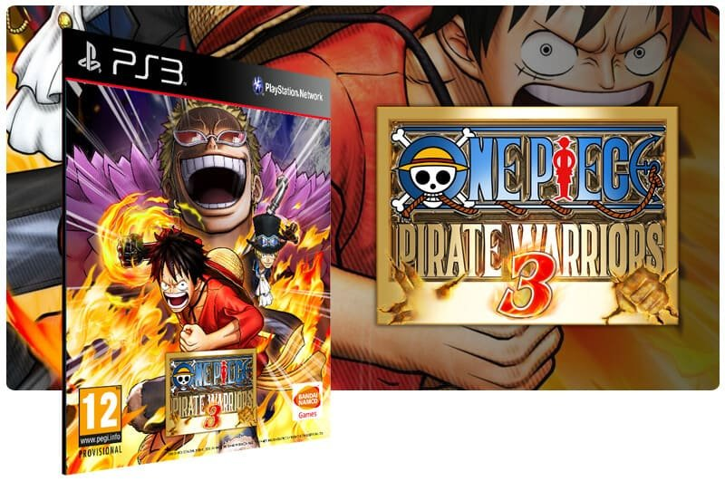 Banner do game One Piece Pirate Warriors 3 para PS3
