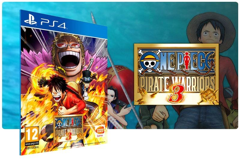 Banner do game One Piece Pirate Warriors 3 para PS4