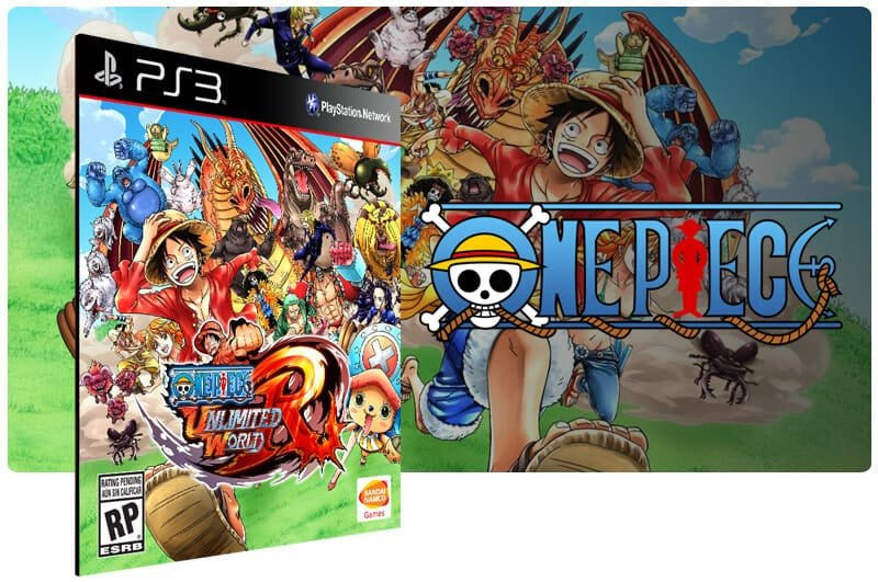 Banner do game One Piece Unlimited World Red para PS3