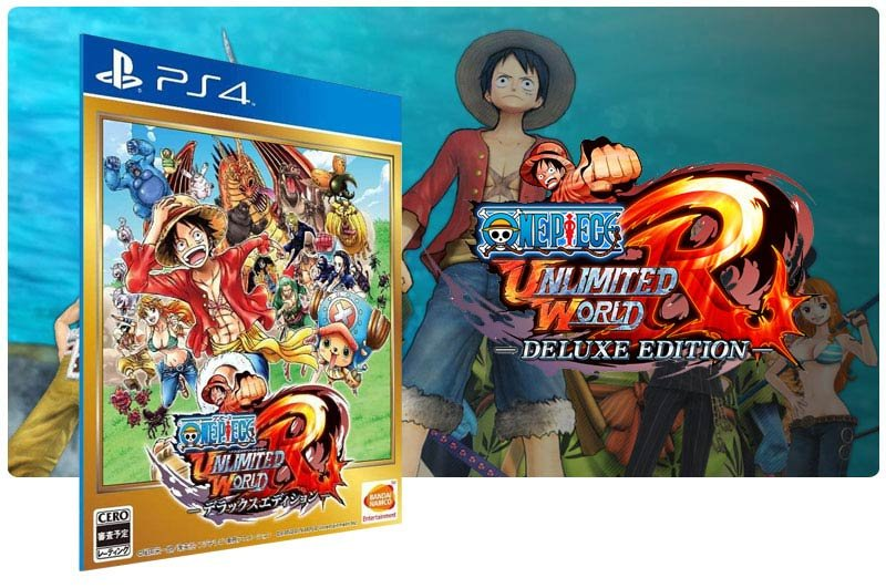 Banner do game One Piece Unlimited World Red Deluxe Edition para PS4