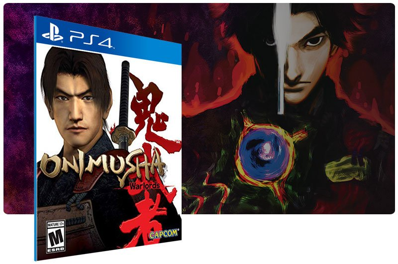 Banner do game Onimusha Warlords para PS4