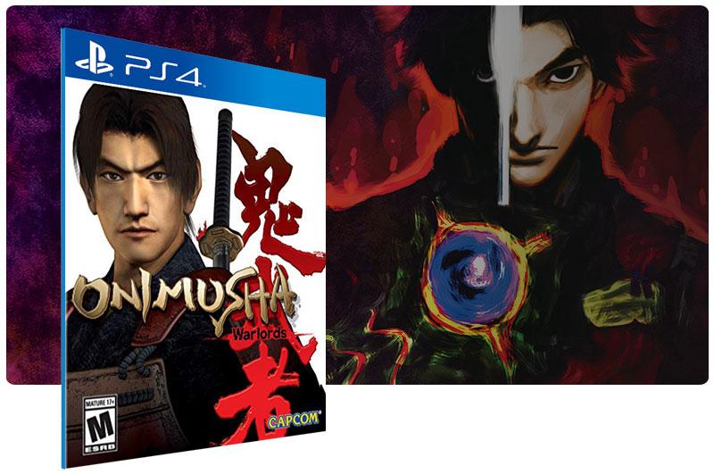 Banner do game Onimusha Warlords para PS4