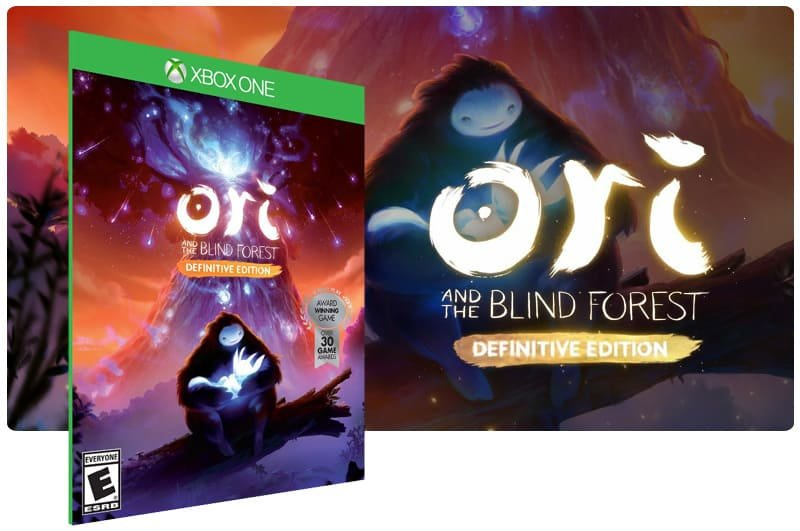 Banner do game Ori and The Blind Forest: Definitive Edition em mídia digital para Xbox One