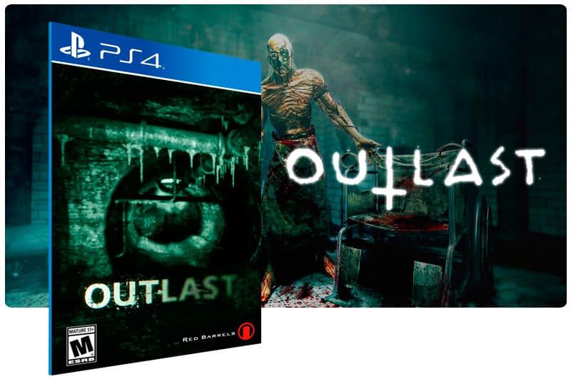 Banner do game Outlast para PS4