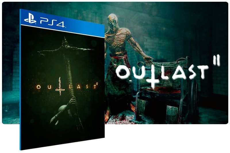 Banner do game Outlast 2 para PS4