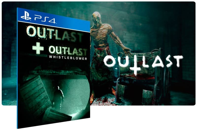 Banner do game Outlast Bundle Of Terror para PS4
