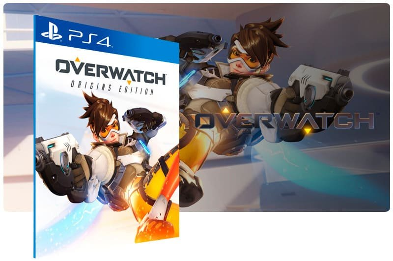 Banner do game Overwatch Origins Edition para PS4