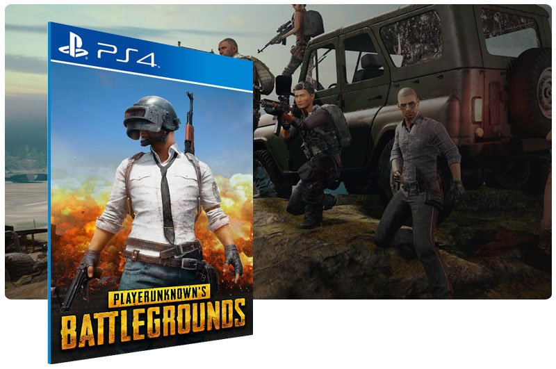 Banner do game PLAYERUNKNOWN'S BATTLEGROUNDS - Looter's Edition para PS4