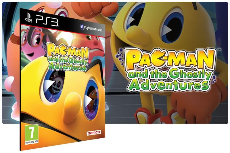 Banner do game Pac Man and The Ghostly Adventures para PS3