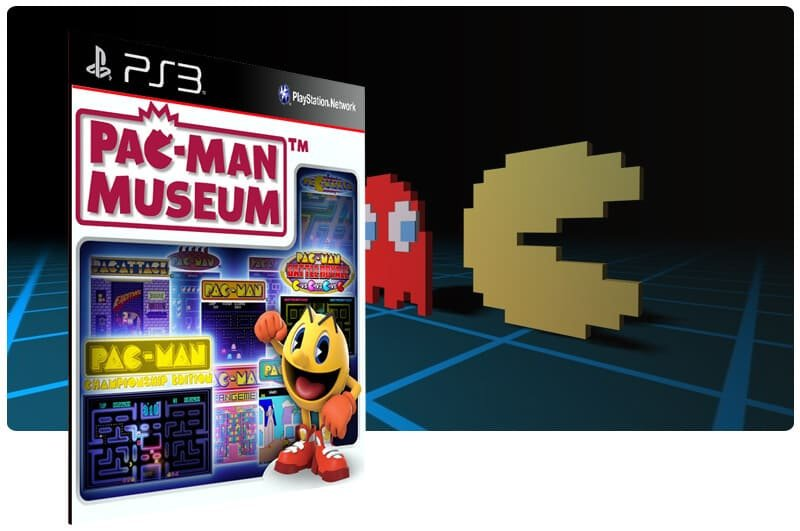 Banner do game Pac Man Museum para PS3