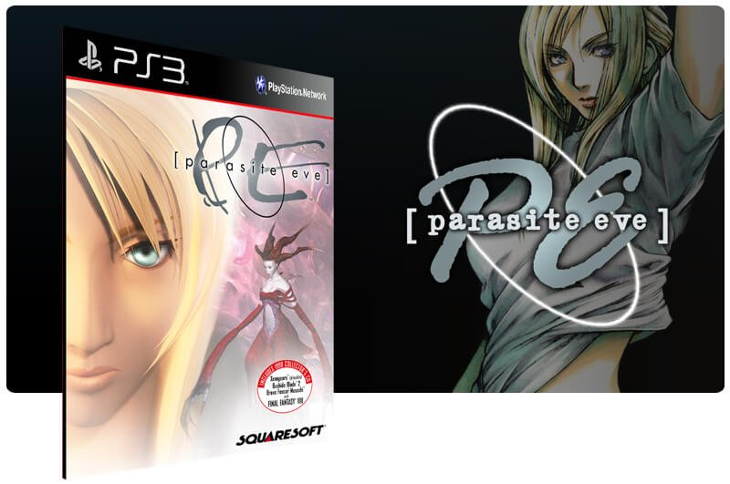 Banner do game Parasite Eve para PS3
