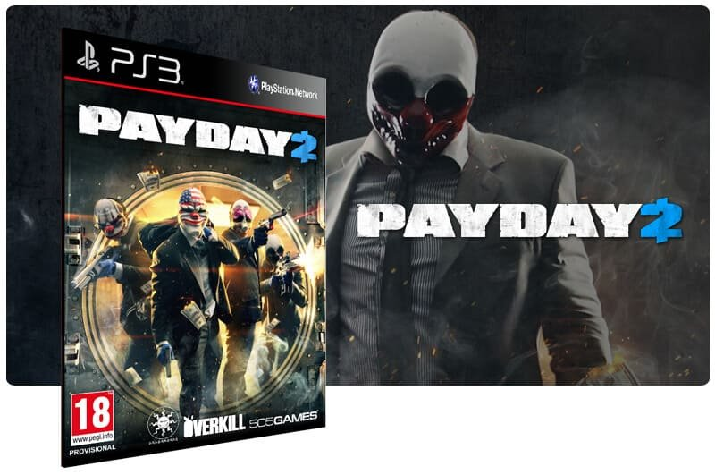 Banner do game Payday 2 para PS3