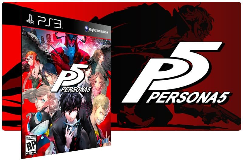 Banner do game Persona 5 para PS3