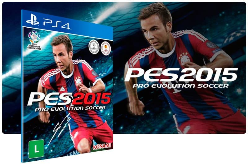 Banner do game Pes 15 para PS4