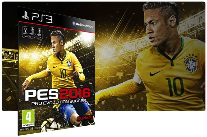 Banner do game PES 16 para PS3