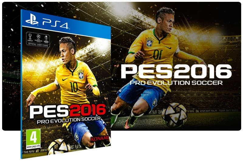 Banner do game Pes 16 para PS4