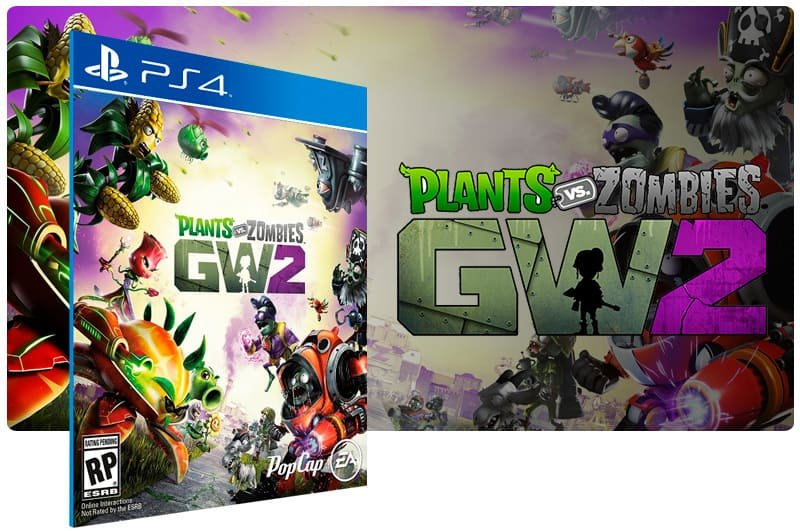Banner do game Plants Vs Zombies Garden Warfare 2 Standard Edition para PS4