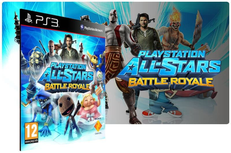 Banner do game Playstation All Stars Battle Royale para PS3