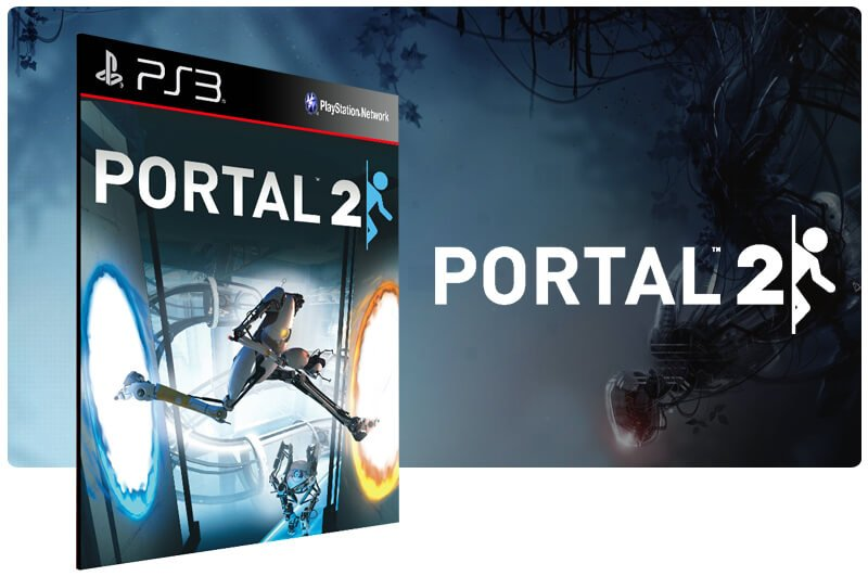 Banner do game Portal 2 para PS3