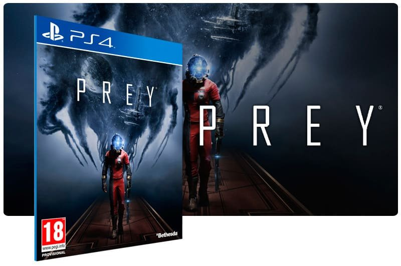 Banner do game Prey para PS4