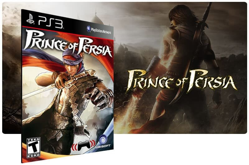 Banner do game Prince of Persia para PS3