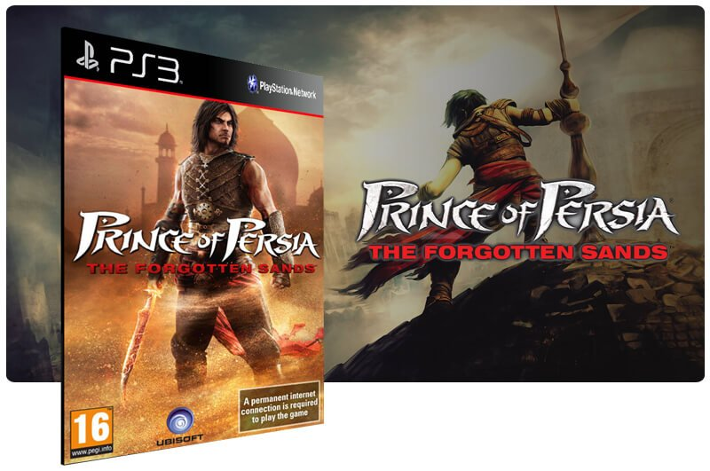 Banner do game Prince of Persia: The Forgotten Sands para PS3