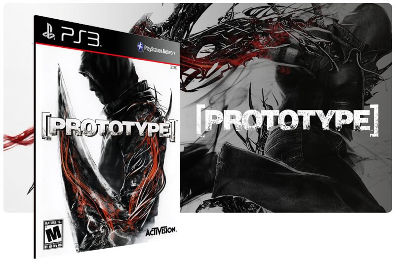 Banner do game Prototype para PS3