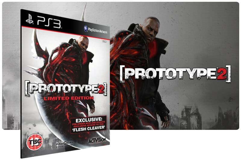 Banner do game Prototype 2 Gold Edition para PS3