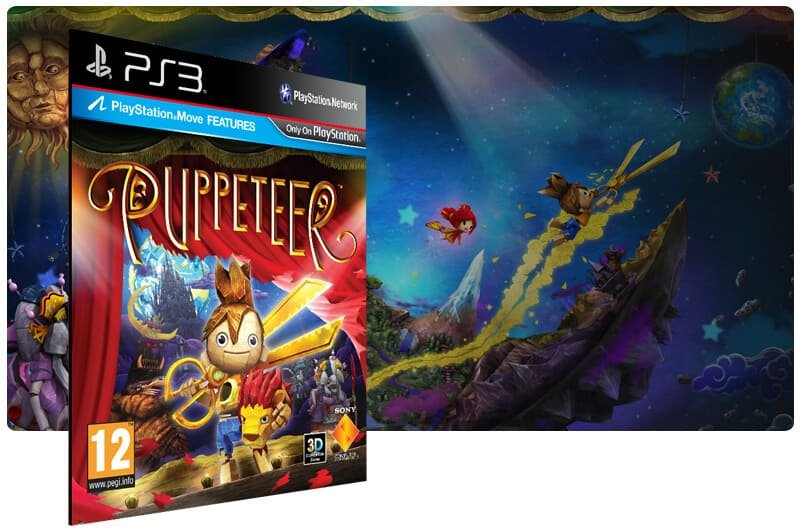 Banner do game Puppeteer para PS3