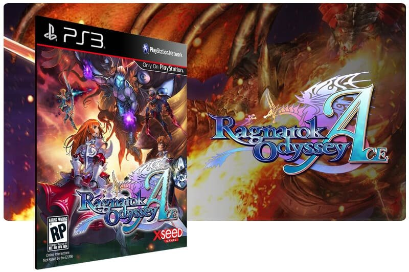Banner do game Ragnarok Odyssey Ace para PS3
