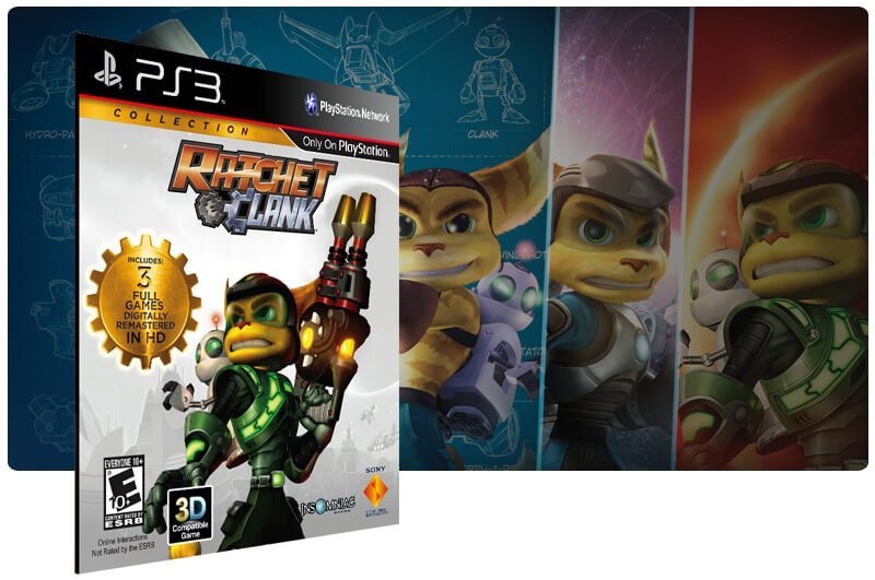 Banner do game Ratchet & Clank: Collection para PS3