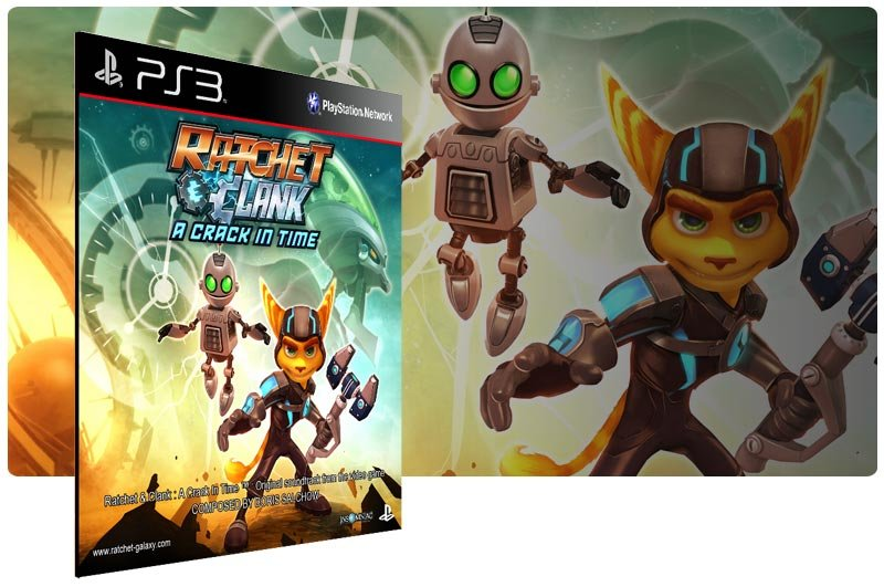 Banner do game Ratchet & Clank Future A Crack in Time para PS3