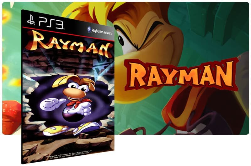 Banner do game Rayman (Psone Classic) para PS3