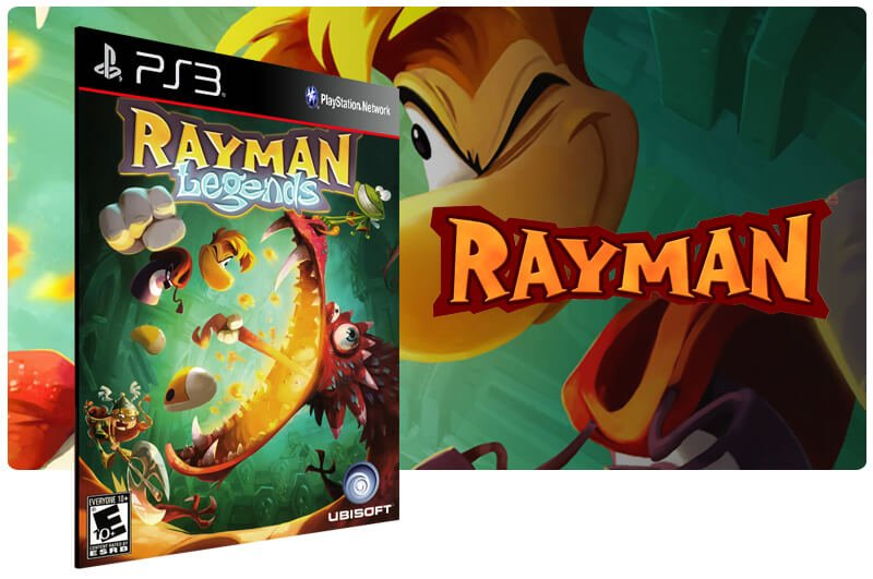 Banner do game Rayman Legends para PS3