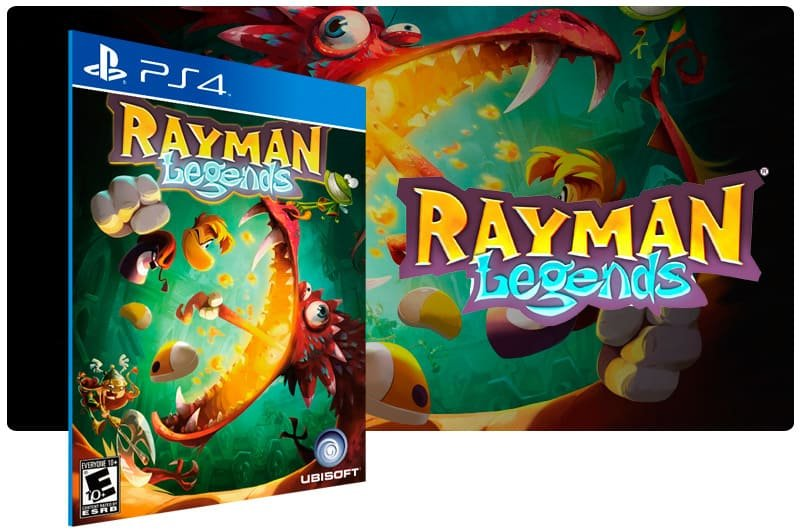 Banner do game Rayman Legends para PS4