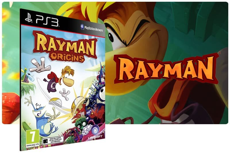 Banner do game Rayman Origins para PS3