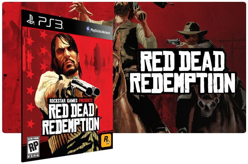 Banner do game Red Dead Redemption para PS3