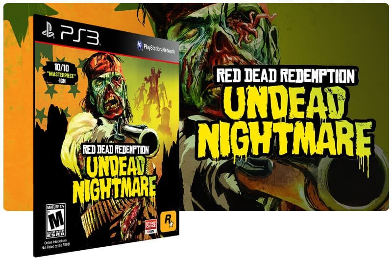 Banner do game Red Dead Redemption Undead Nightmare para PS3