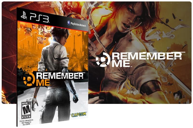 Banner do game Remember Me para PS3